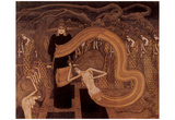 Jan Toorop (The fate) Art Poster Print Prints
