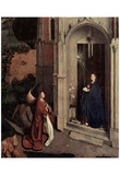 Jan van Eyck (Annunciation) Art Poster Print Posters