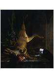 Jan Baptist Weenix (Disembowelled Deer) Art Poster Print Posters