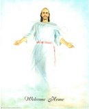 Jesus Christ Welcomes You to Heaven Art Print POSTER Masterprint