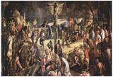 Jacopo Tintoretto (Crucifixion) Art Poster Print Photo
