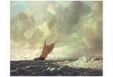 Jacob Isaaksz. van Ruisdael (Marine) Art Poster Print Prints