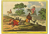 James Gillray (Hunting Scene) Art Poster Print Prints