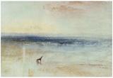 Joseph Mallord William Turner (Morning after shipwreck) Art Poster Print Print