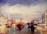 Joseph Mallord William Turner (Grand Canal in Venice) Art Poster Print Masterprint