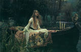 John William Waterhouse Lady Of Shalott Poster PICTURE Posters