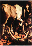 Michelangelo Caravaggio (Painting of the Cerasi Chapel in Santa Maria del Popolo in Rome, scene con Prints