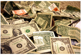 Money 1 (Dollar Bills) Art Poster Print Photo