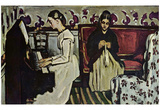 Paul Cezanne (Girls at the Piano) Art Poster Print Prints