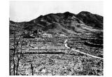Nagasaki, Japan (Aftermath of Bombing) Art Poster Print Posters