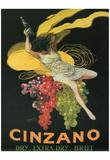 Leonetto Cappiello (Cinzano) Art Poster Print Póster