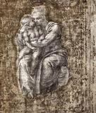 Michelangelo Buonarroti (Madonna and Child) Art Poster Print Masterprint
