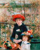 Pierre-Auguste Renoir (On the Terrace) Art Poster Print Masterprint