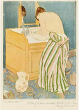 Mary Cassatt (The toilet) Art Poster Print Masterprint