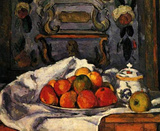 Paul Cezanne (Still Life, Bowl with apples) Art Poster Print Masterprint