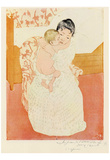Mary Cassatt (Maternal tenderness) Art Poster Print Posters