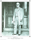 Mathew B Brady Robert E. Lee Art Print POSTER Civil War Photographie