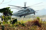Marines Helicopter (Taking Off) Art Poster Print Masterprint