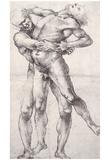 Luca Signorelli (Hercules and Antaeus) Art Poster Print Posters
