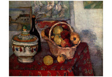 Paul Cezanne (Still Life with Soup Tureen) Art Poster Print Poster