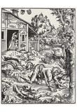 Lucas Cranach (Werewolf) Art Poster Print Posters