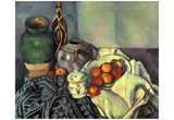 Paul Cezanne (Still life with apples) Art Poster Print Prints