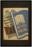 New York City Housing Authority (Better Housing) Art Poster Print Print