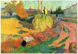 Paul Gauguin (The Mas of Arles) Art Poster Print Posters