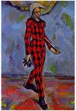 Paul Cezanne (Harlekin) Art Poster Print Prints