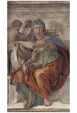 Michelangelo Buonarroti (Ceiling fresco of Creation in the Sistine Chapel, scene in Bezel: The Delp Posters