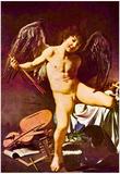 Michelangelo Caravaggio (Amor a winner) Art Poster Print Print