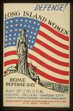 Long Island Women (Home Defense Day) Art Poster Print Masterprint
