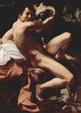 Michelangelo Caravaggio (St. John the Baptist) Art Poster Print Masterprint