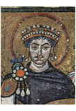 Master of San Vitale in Ravenna (Choir mosaics at San Vitale in Ravenna, Szene: Kaiser Justinian an Prints
