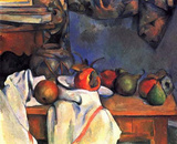 Paul Cezanne (Still lifes, ginger pot) Art Poster Print Masterprint