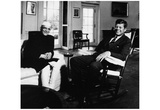 President John F Kennedy (With Prime Minister Nehru) Art Poster Print Prints