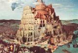 Pieter Brueghel (Tower of Babel) Art Poster Print Masterprint