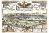 Simon Novellanus (Regensburg, overview) Art Poster Print Prints
