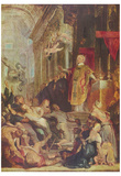 Peter Paul Rubens (Miracles of St. Ignatius of Loyola) Art Poster Print Plakaty