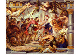 Peter Paul Rubens (Abraham's encounter with Melchizedek) Art Poster Print Posters