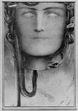 Fernand Khnopff (The blood of the Medusa) Art Poster Print Masterprint