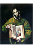 El Greco (St. Luke as painter) Art Poster Print Posters