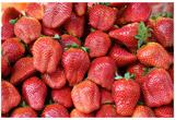 Strawberries (Pile) Art Poster Print Prints