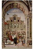 Pintoricchio (Fresco cycle on the life and deeds of Enea Silvio Piccolomini, Pope Pius II in the Ca Posters