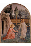 Fra Angelico (Fresco cycle in the Dominican convent of San Marco in Florence scene: Noli me tangere Prints