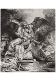 Rembrandt Harmensz. van Rijn (Abraham's sacrifice) Art Poster Print Posters