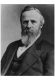 President Rutherford B. Hayes (Portrait) Art Poster Print Posters