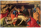 Sandro Botticelli (Lamentation of Christ) Art Poster Print Posters