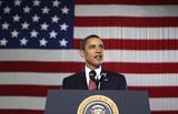 President Barack Obama (Giving Speech) Art Poster Print Masterprint