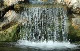 Small Waterfall (Rocks) Art Poster Print Masterprint